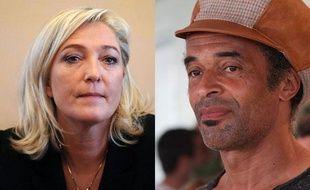 Yannick Noah porte plainte pour diffamation contre Marine le Pen.