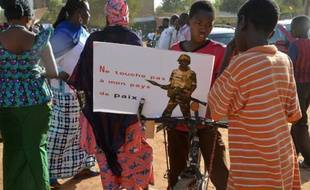 Manifestation anti-Boko Haram, le 17 février 2015 à Niamey