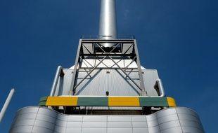 La centrale biomasse de Saint-Denis, en 2017.