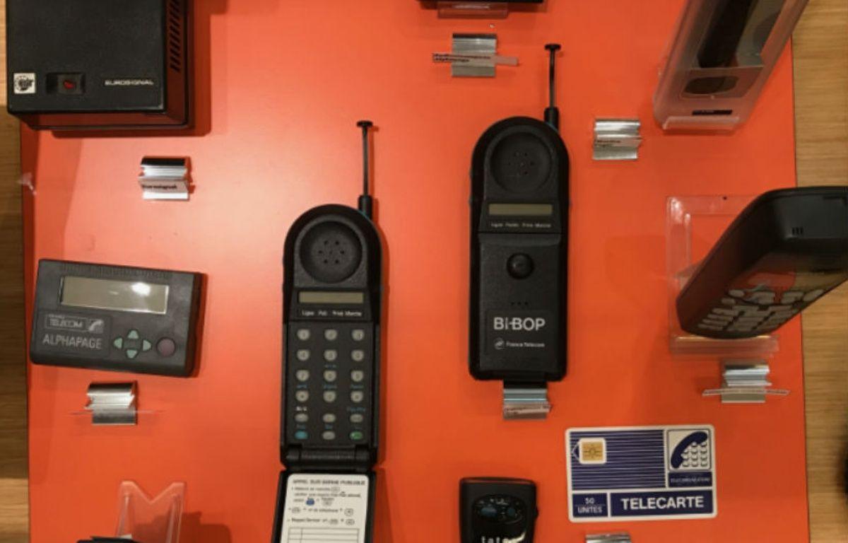 Le Bi-Bop, précurseur de nos mobiles en 1993. – CHRISTOPHE SEFRIN/20 MINUTES