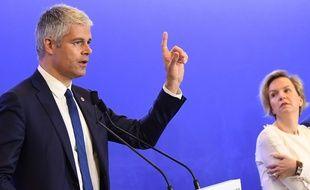 Laurent Wauquiez s'est adressé aux militants de son parti dans un courriel.