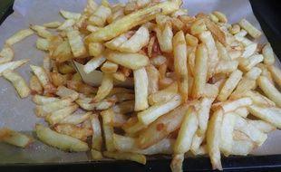 Voilà ce qu'on appelle une petite frite dans le Nord.