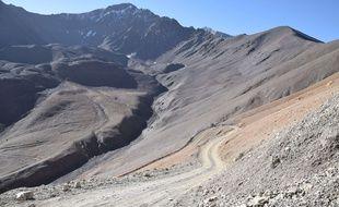 La fonte des neiges dans la vallée du Panjshir, en Afghanistan a provoqué une puissante coulée de boue.