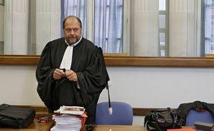 L'avocat pénaliste lillois Eric Dupond-Moretti.