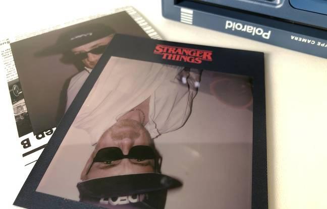 16 cadres différents reprenant les codes de Stranger Things.