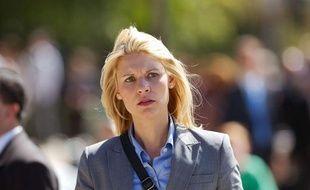 Le personnage de «Homeland» Carrie Mathison, joué par l'actrice Claire Danes.