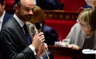 Edouard Philippe, le 15 novembre 2017 à l'Assemblée nationale.
