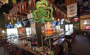 Un pub irlandais aux Etats-Unis (illustration).