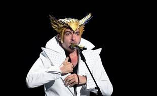 Matthieu Chedid lors d'un concert à Nice en novembre 2019