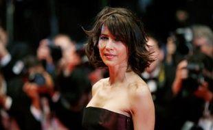 """L'actrice française Sophie Marceau à Cannes pour la projection du film """"Coming home"""", le 20 mai 2014"""