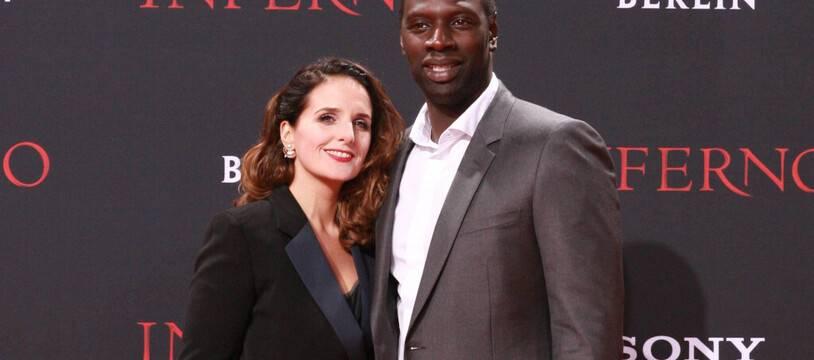 Les époux Hélène et Omar Sy
