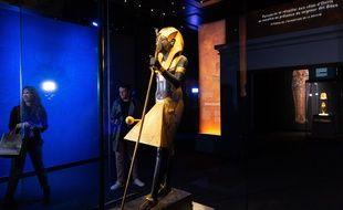 L'exposition «Toutankhamon, le trésor du pharaon», à la Grande Halle de la Villette.