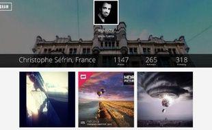 Grâce au site copygram, il est possible de télécharger en un clic l'ensemble de ses photos Instagram sur son ordinateur.