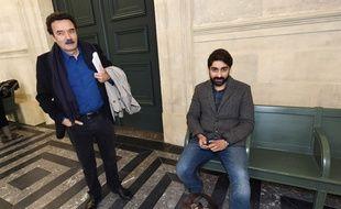 Les journalistes poursuivis dans le volet des écoutes de l'affaire Bettencourt ont été définitivement blanchis.  / AFP PHOTO / MEHDI FEDOUACH