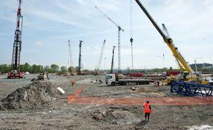 Le nouveau stade de Bordeaux devrait être inauguré en juillet 2015.