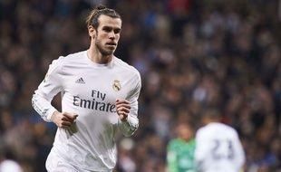 Gareth Bale lors de Real Madrid-Séville le 20 mars 2016.