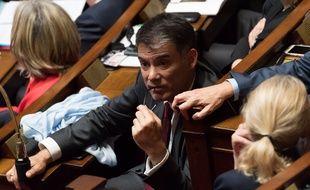 Olivier Faure, premier secrétaire du PS à l'Assemblée nationale.