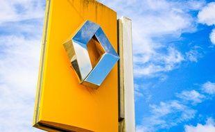 Le logo de Renault.