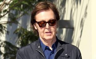 Paul McCartney à Hollywood, le 9 février 2012.
