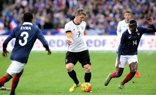 La France avait battu l'Allemagne le 13 novembre 2015 au stade de France