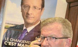 Jean-Pierre Moure, au siège du PS.