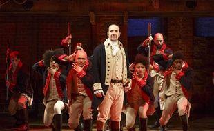 Lin-Manuel Miranda dans «Hamilton» à New York.