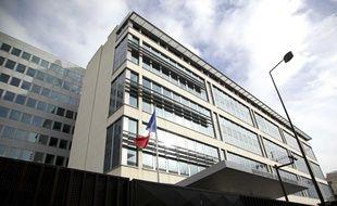 Le siège de la Direction centrale du renseignement intérieur (DCRI) à Levallois-Perret le 5 février 2013.