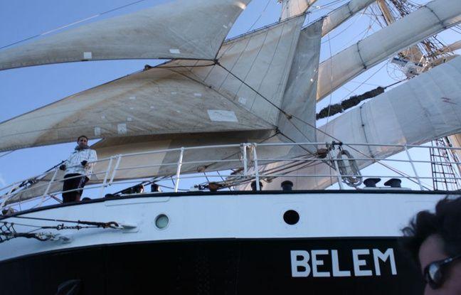 Le Belem devra être mis en cale séche pour les travaux sur la coque