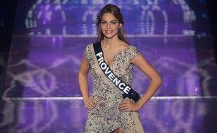 Miss Provence, première dauphine de Miss France 2021, April Benayoum.