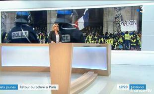 Le Jt de France 3 du samedi 15 décembre.