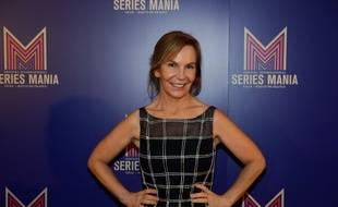 Marti Noxon, la présidente du jury du festival Séries Mania 2019, lors de la cérémonie d'ouverture.
