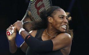 Serena Williams à l'Open d'Australie, le 28 janvier 2017.