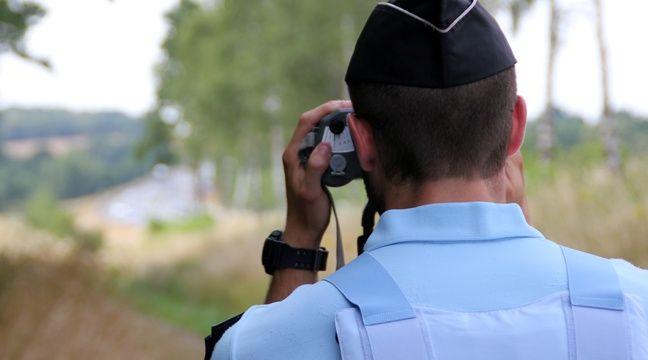 Contrôlé à 203 km/h dans les Vosges, il « confie » sa moto aux gendarmes