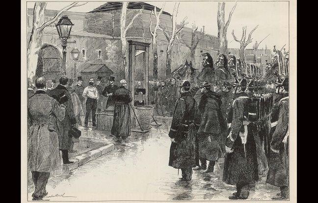 Vaillant est condamné à mort et guillotiné le 5 février 1894.
