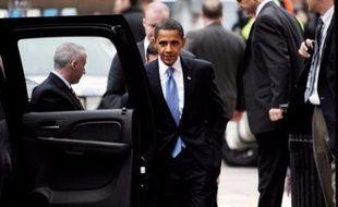 Barack Obama était attendu lundi avec une excitation rare à la Maison Blanche pour mettre pour la première fois le pied dans le Bureau ovale d'où il dirigera les Etats-Unis en janvier après George W. Bush.