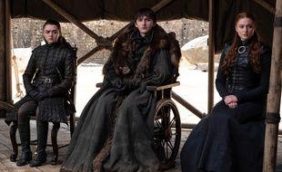Les enfants Stark (qui ont bien grandi) dans le dernier épisode de la série «Game of Thrones»