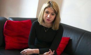 Diane Lazarevic, fille de l'otage français Serge Lazarevic, le 9 décembre 2012 à Livry-Gargan.