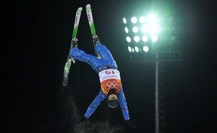 L'Ukrainienne Olga Polyuk au ski acrobatique