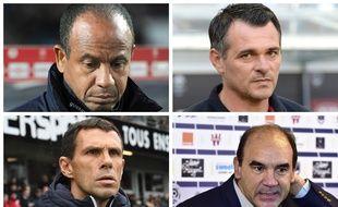 Jean Tigana, Willy Sagnol, Gustavo Poyet et Ricardo, tous ont été démis de leur fonction ces dernières saisons.