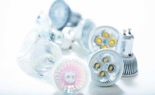 Illustration d'ampoules halogènes.