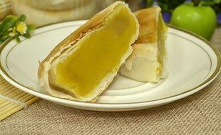 Gâteau à base de durian, fruits asiatique réputé pour sa mauvaise odeur.