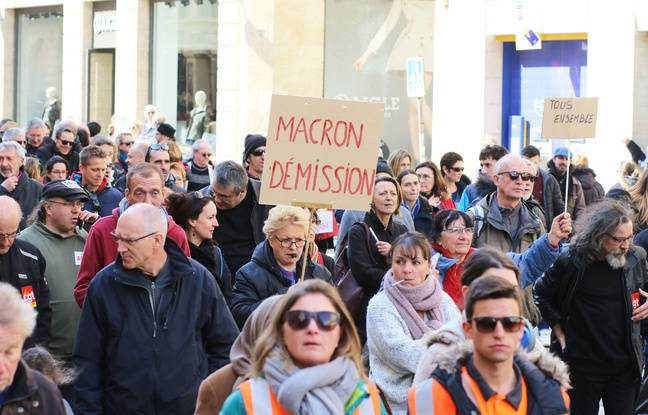 Manifestation à Bordeaux