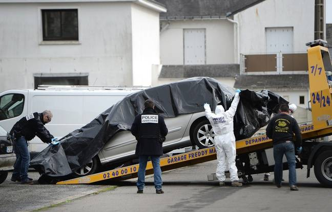 La voiture de Sébastien Troadec a été retrouvée à Saint-Nazaire le 2 mars 2017.