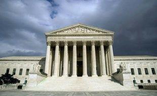 Le bâtiment abritant la Cour suprême des Etats-Unis, le 31 mars 2012 à Washington