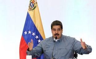 Nicolas Maduro, le président vénézuélien