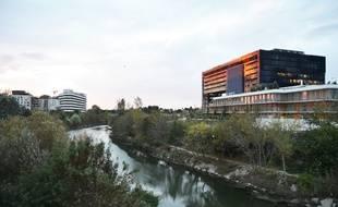 Port-Marianne à Montpellier, le quartier le plus cher de la ville.