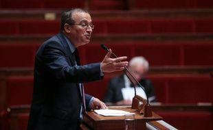 Le député UMP Hervé Mariton, le 2 juillet 2013 à l'Assemblée nationale, à Paris