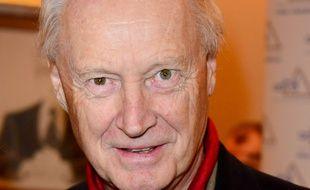 Le journaliste, homme de télévision et romancier Louis Beriot en 2014.