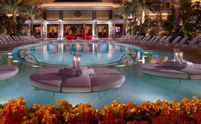 L'hötel Encore à Las Vegas aux Etats-Unis.