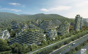 La Chine construit une ville dans la forêt contre la pollution